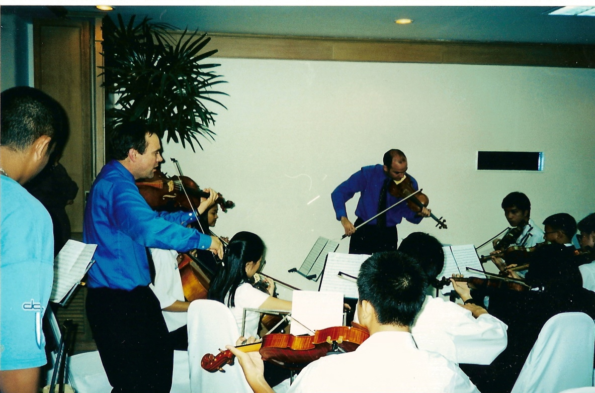 coaching Thai Youth Orchestra Nov 01