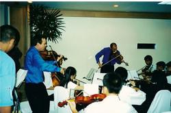 coaching Thai Youth Orchestra Nov 01