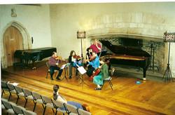 Coaching at Dartington Aug 2000