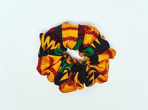 Ashanti Black Scrunchie