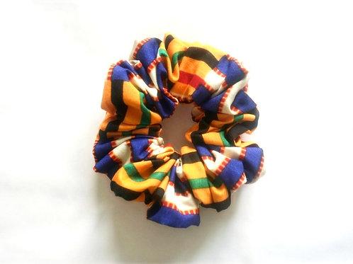 Kusasi Stripes Scrunchie