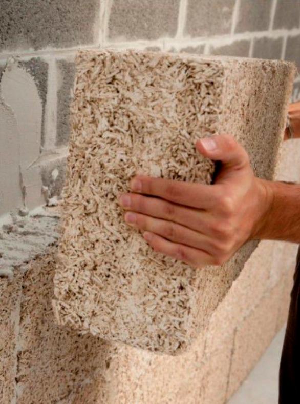 Cat de greu este sa construiesti cu beton din canepa? (3)                                  Caramizi