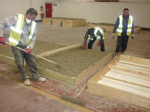 Cat de greu este sa construiesti cu beton din canepa? (4) Panourile prefabricate