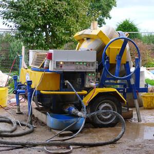 Cat de greu este sa construiesti cu beton din canepa? (2)                                       Pulv