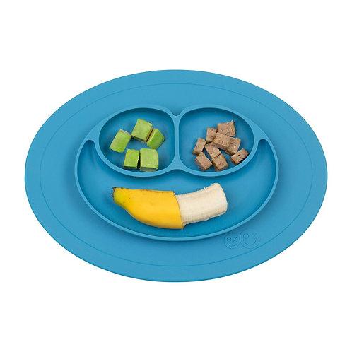 ezpz Mini Mat - One-piece silicone placemat + plate