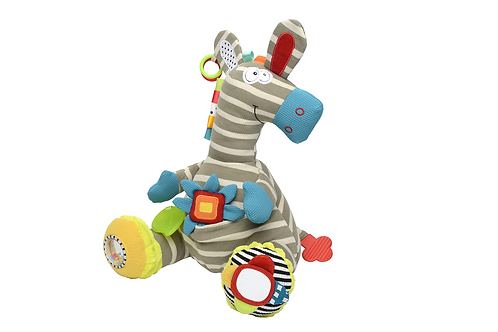 Dolce Activity Zebra Plush