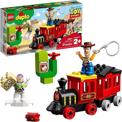 LEGO DUPLO Disney Pixar Toy Story Train 10894 Building Blocks (21 Piece), New