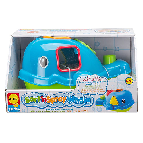 ALEX Toys Rub a Dub Sort 'n Spray Whale
