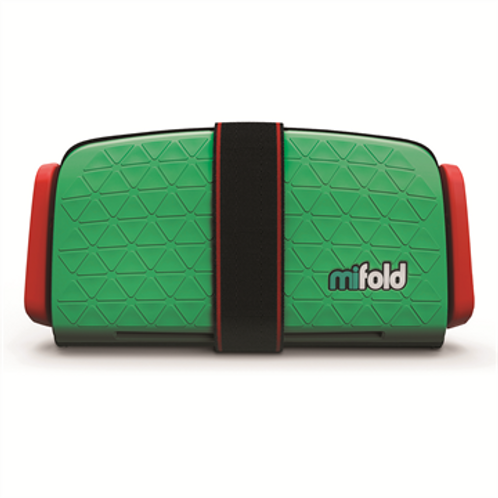 MIFOLD Grab and Go Booster Seat Lime Green