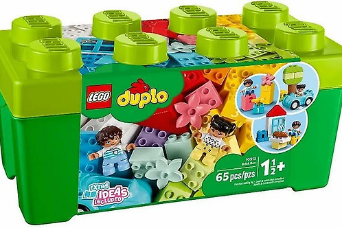 LEGO DUPLO Classic Deluxe Brick Box 10914 Starter Set with Storage Box