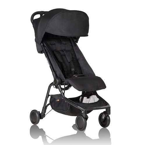MOUNTAIN BUGGY NANO Travelling Stroller - Black