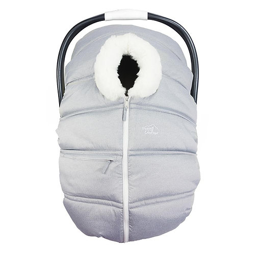 PETIT COULOU Winter Cover Light Grey Fur
