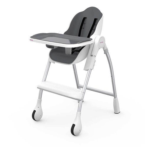 Oribel Cocoon High Chair, Slate