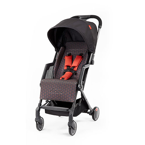 Diono Traverze Stroller Charcoal Copper Hive