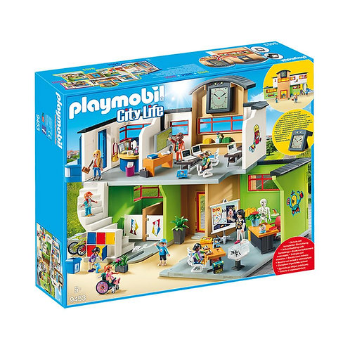 Playmobil City Life Furnished School Building 9453