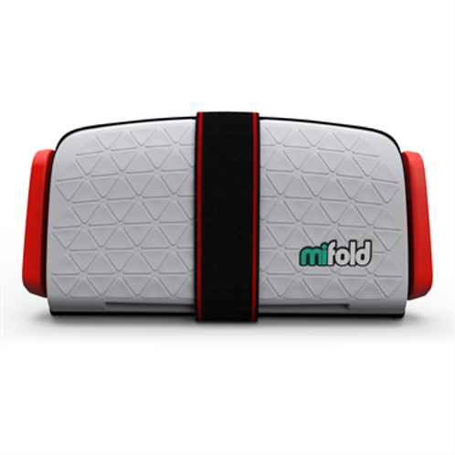 MIFOLD Grab and Go Booster Seat Pearl Grey