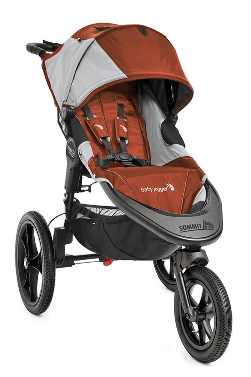 Summit X3 Stroller Orange/Grey