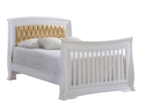 Natart Bella Gold Collection Double Bed with Rails