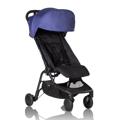 MOUNTAIN BUGGY NANO Travelling Stroller - Nautical Blue