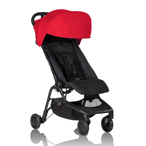 MOUNTAIN BUGGY NANO Travelling Stroller - Ruby Red