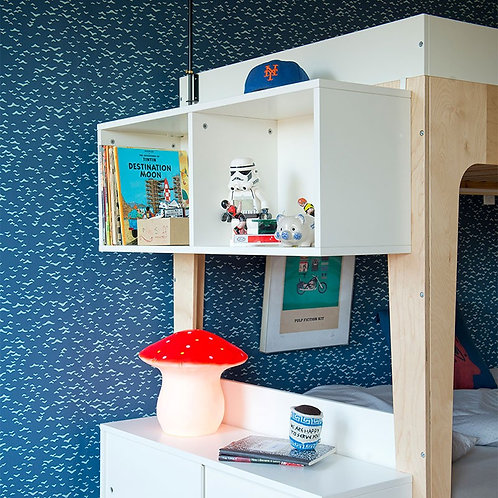 PERCH BUNK BED SHELVING UNIT