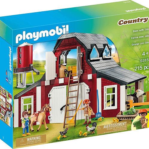 Playmobil Barn with Silo 9315