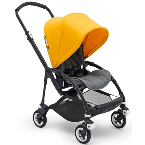 Complete Bugaboo Stroller Bee 5 Sunrise Yellow Black