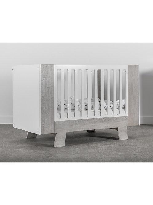 Pomelo Crib Rustic Grey