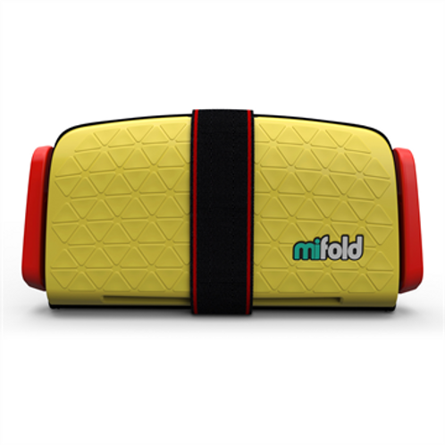 MIFOLD Grab and Go Booster Seat Taxi Yellow