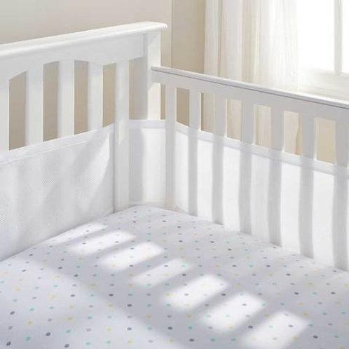 BREATHABLEBABY Breathable Crib Bumper