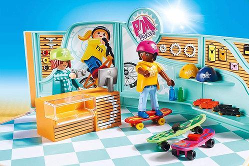 Playmobil City Life: Bike & Skate Shop playset 9402