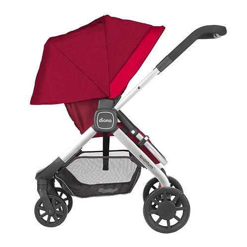 Diono Quantum Multi-Mode Stroller Travel System Red
