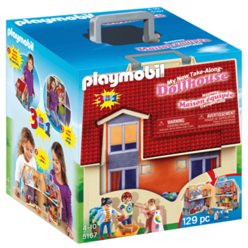 PLAYMOBIL Take Along Modern Doll House 5167 Play Set