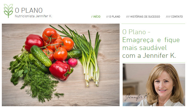 Bem Estar website templates – Nutricionista