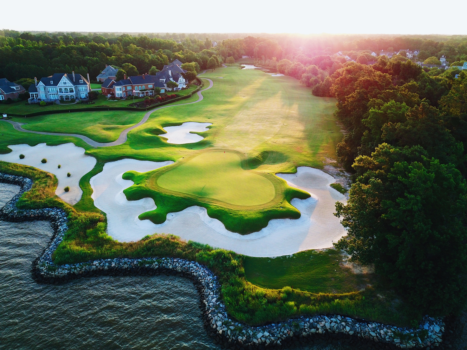 16th Green | Governors Land, VA