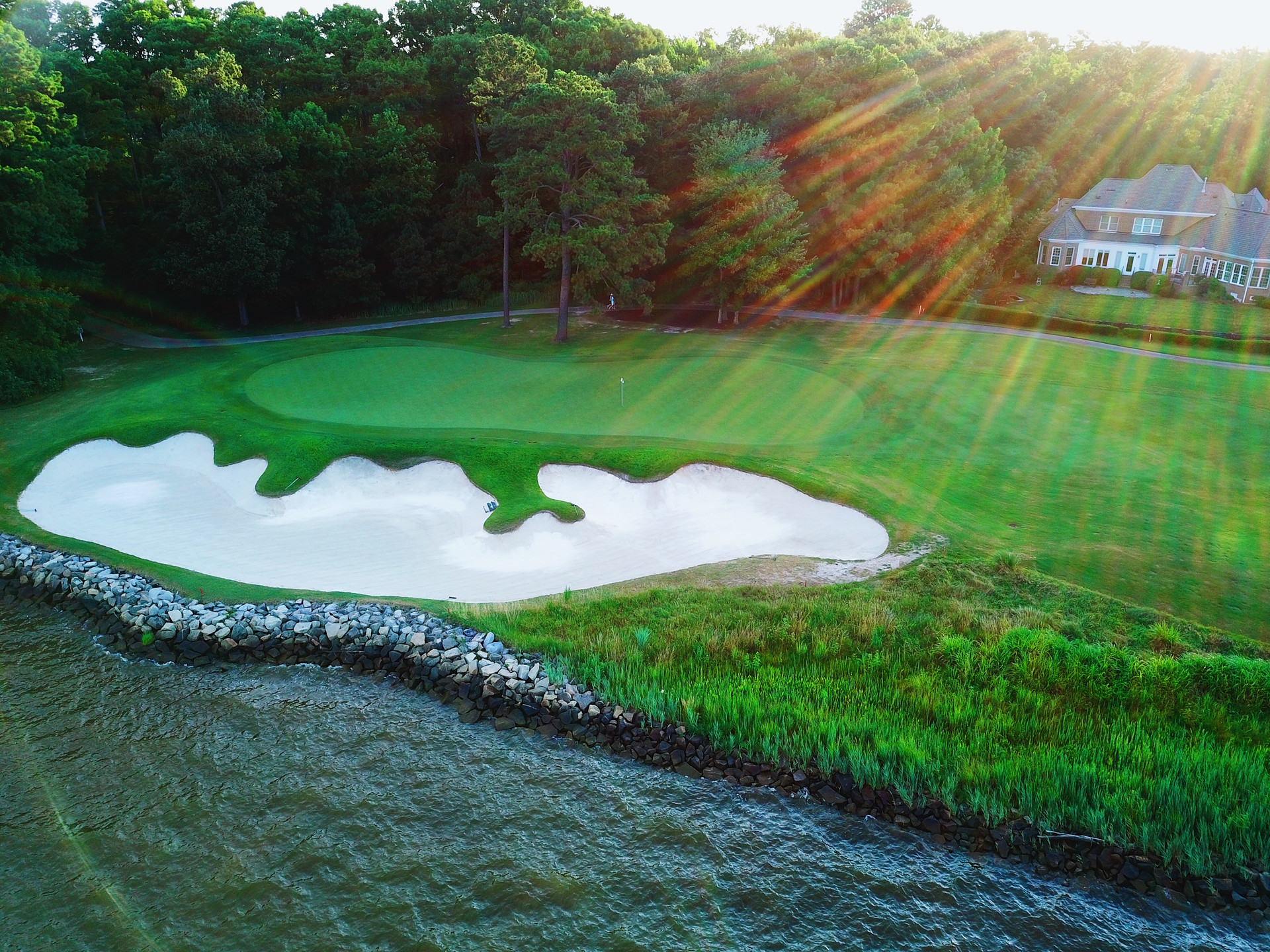 17th Green| Governors Land, VA