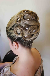 bridal hair salon in orange county