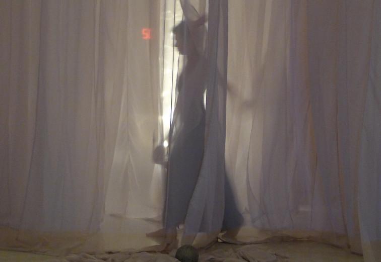 Fate, 2017. Multidisciplinary piece. Third movement: Absent presence.
