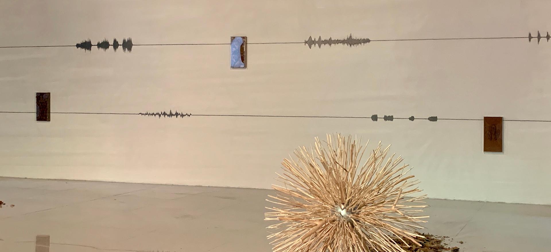 Caosmosis, 2020 (detail) Multimedia installation 8.85 x 16.40 x 26.24 feet 2.70 x 5 x 8 m At Modern Love vo. 4 art fair. Mexico City, Mexico.