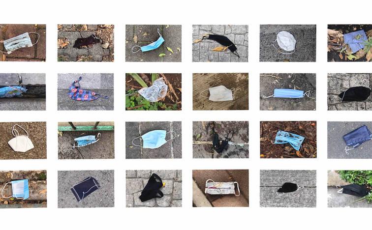 Pandemia, 2021 32 photographs on cotton paper. 6.69 x 10.03 inches each 17 x 25.5 cm. each