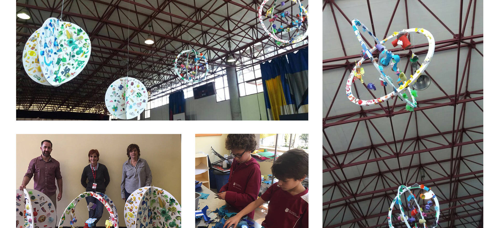 Glocal, 2017 Awareness building and trash recycling project made in collaboration with students of the American School Foundation. Mexico City, Mexico.