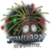 January Big Ben Fireworks