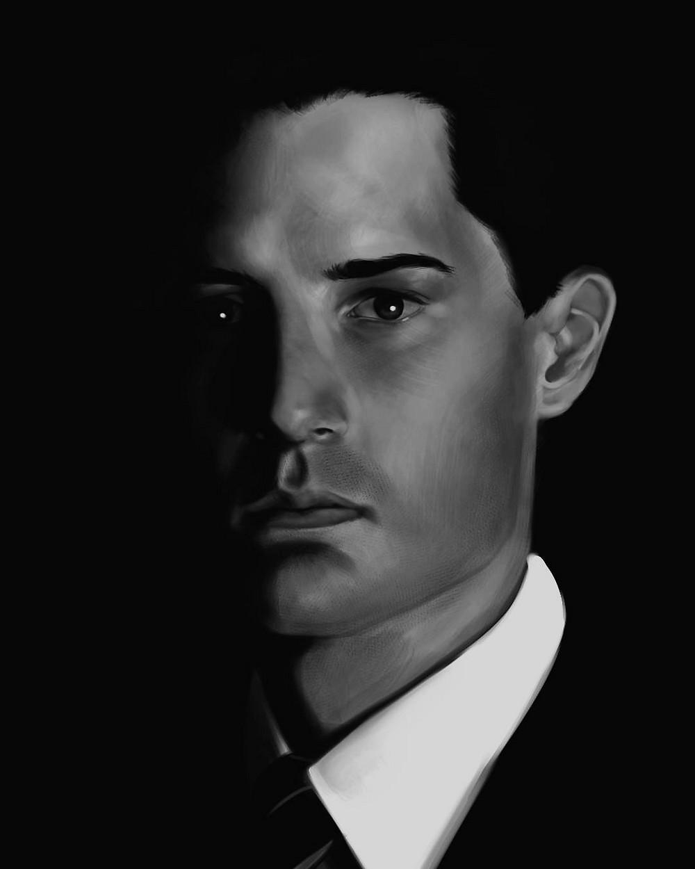 ophanap digital portrait painting