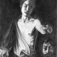 David with the head of Goliath study