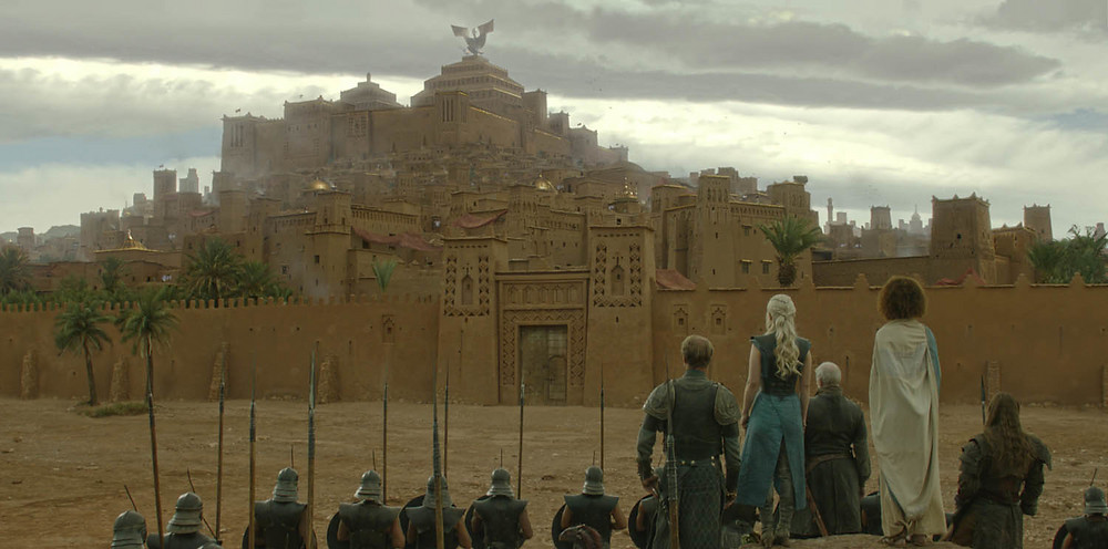Adam Figielski, Game of Thrones. Matte Painting