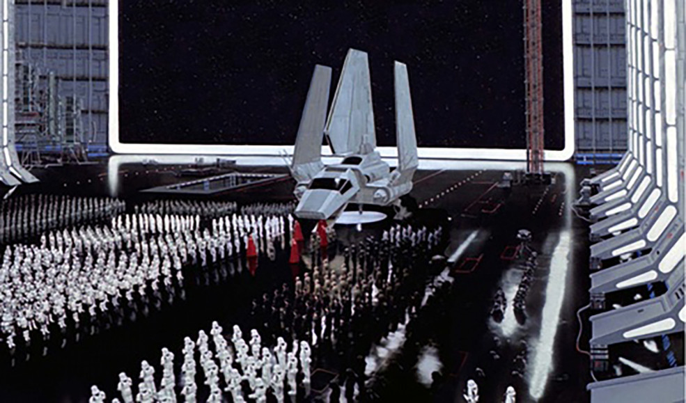 Matte painting christopher evans star wars