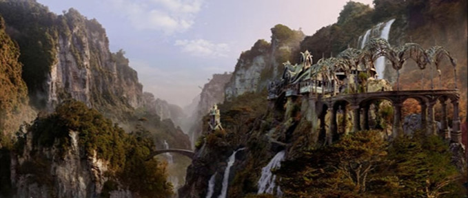 The Lord of the Rings. 2001. Matte Painting Via New Line Cinema