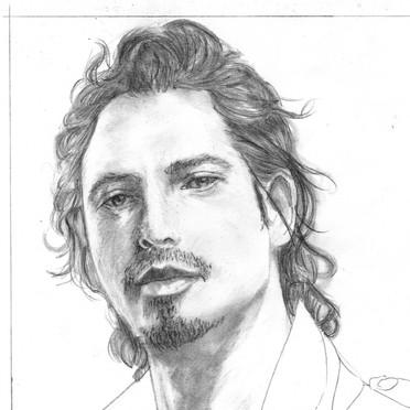 Chris Cornell Sketch