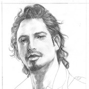 Chris Cornell Sketch