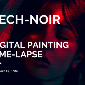 TECH-NOIR - Full painting process (Tutorial)